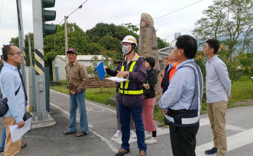 台九線芒果大道規劃不當 熱心民衆蔣聖明向交通部公路總局陳情  盼提升用路人的安全